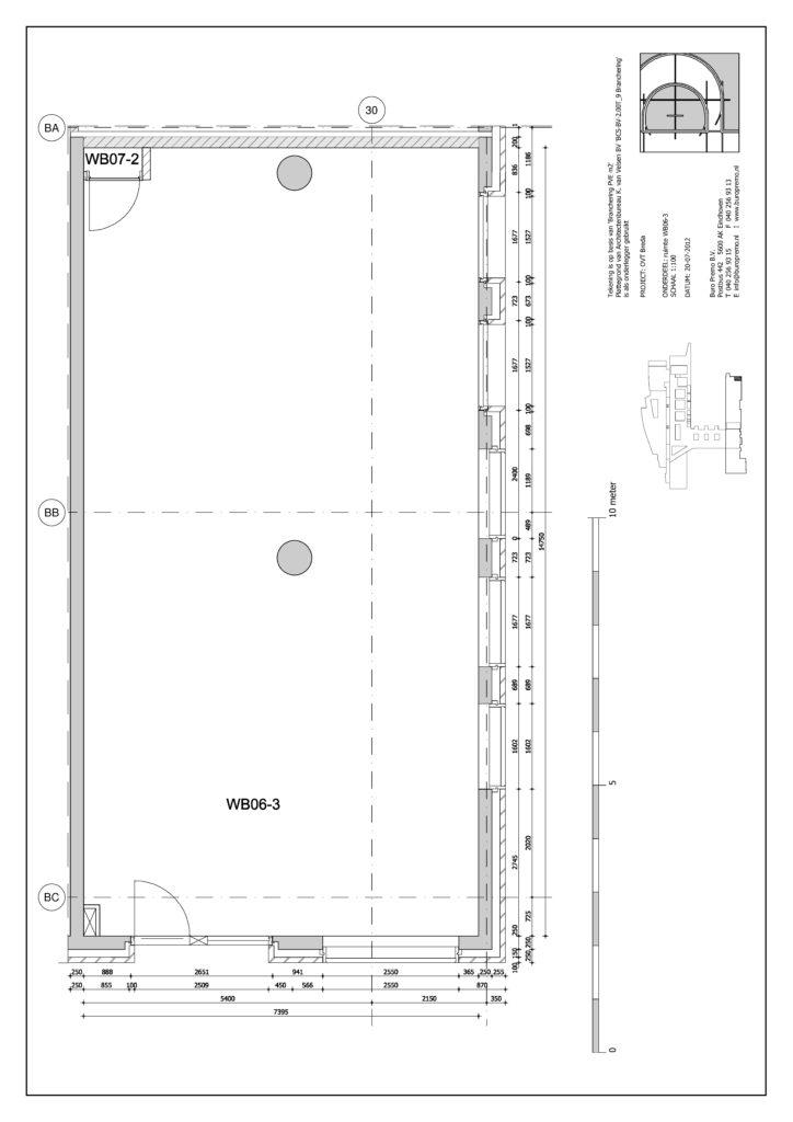 Breda Plattegrond commerciele ruimte Stationsplein